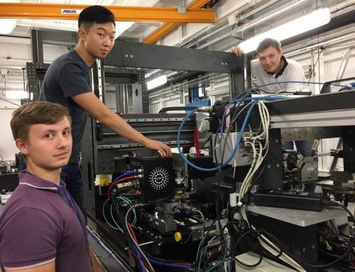 """Сотрудники МНИЦ """"Когерентная рентгеновская оптика для установок Мегасайенс"""" БФУ им. И. Канта провели исследования в области фазово-контрастной микроскопии с использованием параболических аксиконов."""